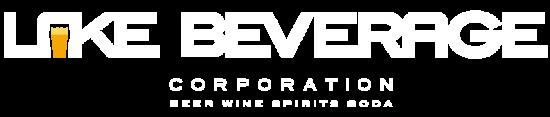Lake Beverage Logo Reversed